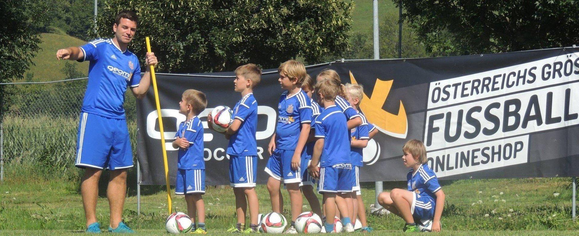 Fußball Erlebnis Camps 2019